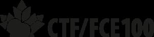 CTF/FCE - Horizontal black logo - Centenary