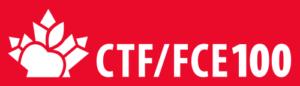 CTF/FCE - Horizontal red logo - Centenary
