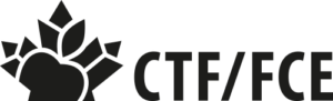 CTF/FCE - Horizontal black logo