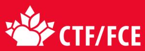 CTF/FCE - Horizontal red logo