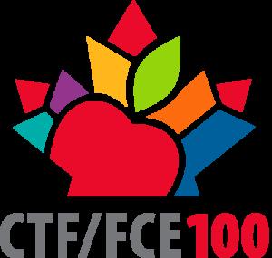 CTF/FCE - Vertical regular logo - Centenary