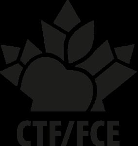 CTF/FCE - Vertical black logo