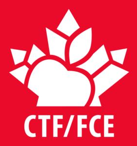 CTF/FCE - Vertical red logo